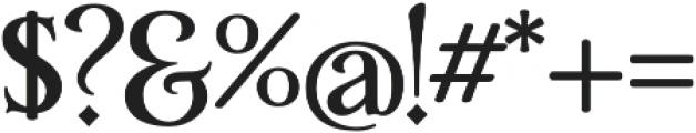 Yana B otf (400) Font OTHER CHARS