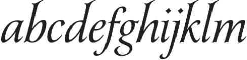Yana otf (400) Font LOWERCASE