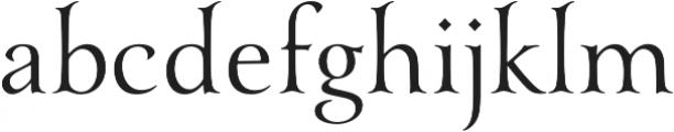 YanaR otf (400) Font LOWERCASE