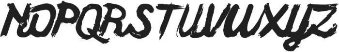 Yarick ttf (400) Font UPPERCASE