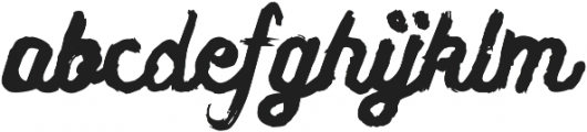 Yarick ttf (400) Font LOWERCASE