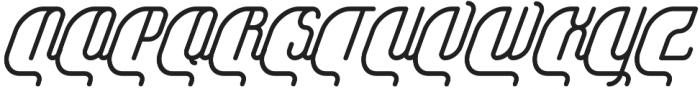 Yasemin Bold Italic otf (700) Font UPPERCASE