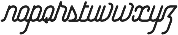 Yasemin Bold Italic otf (700) Font LOWERCASE