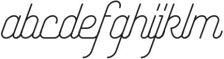 Yasemin otf (300) Font LOWERCASE