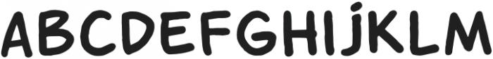 Yasir -Speech Bubble Regular otf (400) Font UPPERCASE