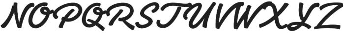 Yaty otf (400) Font UPPERCASE
