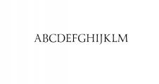 Yana.otf Font UPPERCASE