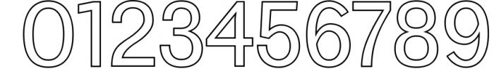 Yarelli Sans Serif Font Family 1 Font OTHER CHARS