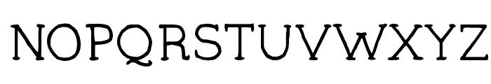 YAA Type - FREE Font UPPERCASE