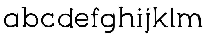 YAA Type - FREE Font LOWERCASE