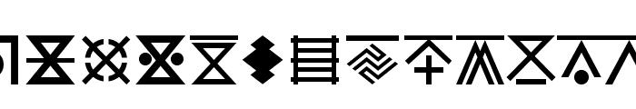 YAGO Font UPPERCASE