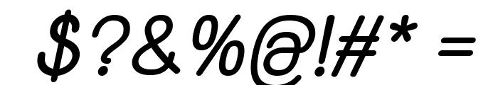 Yaahowu Bold Italic Italic Font OTHER CHARS