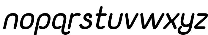Yaahowu Bold Italic Italic Font LOWERCASE