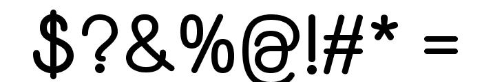 Yaahowu Bold Font OTHER CHARS