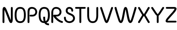 Yaahowu Bold Font UPPERCASE
