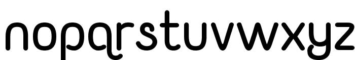 Yaahowu Bold Font LOWERCASE