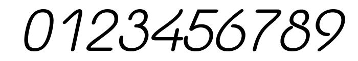 Yaahowu Italic Italic Font OTHER CHARS