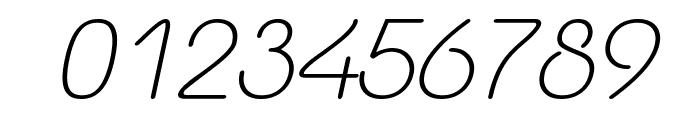 Yaahowu Light Italic Italic Font OTHER CHARS