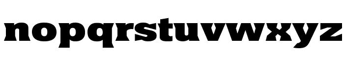 Yacimiento ExtraBold Font LOWERCASE