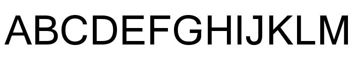 Yagora Font UPPERCASE