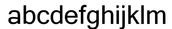 Yagora Font LOWERCASE