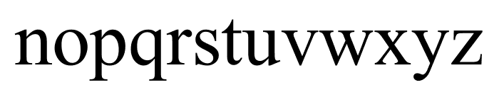 YagpoUni Font LOWERCASE