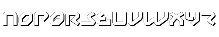 Yahren Shadow Font UPPERCASE