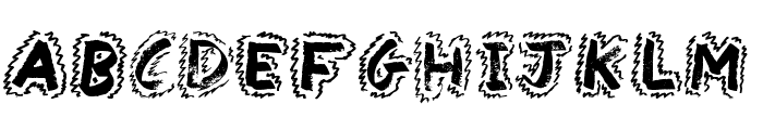 Yak Shamash Font UPPERCASE