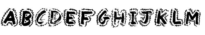 Yak Shamash Font LOWERCASE