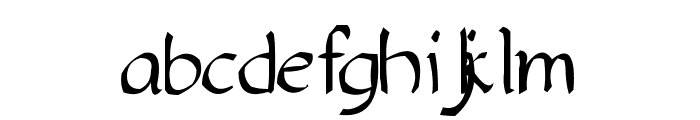 Yakap Font LOWERCASE