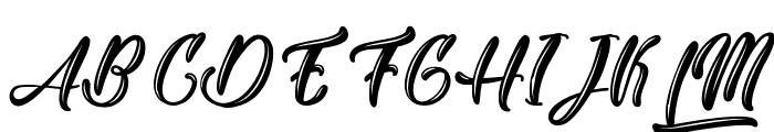 Yakuza Lobster Font UPPERCASE
