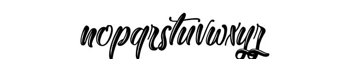 Yakuza Lobster Font LOWERCASE