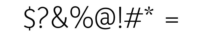 Yaldevi Colombo Light Font OTHER CHARS