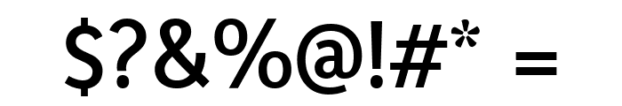Yaldevi Colombo SemiBold Font OTHER CHARS