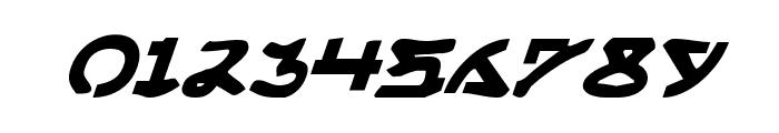 Yama Moto Italic Font OTHER CHARS
