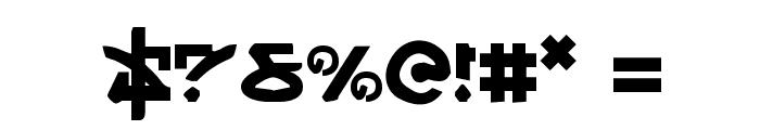Yama Moto Font OTHER CHARS