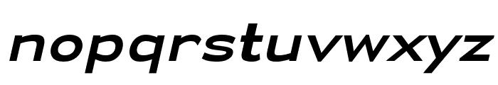 Yamaxanadu Italic Font LOWERCASE