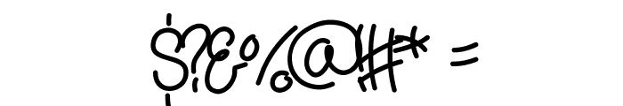 Yana Font OTHER CHARS