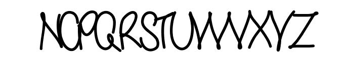 Yana Font UPPERCASE