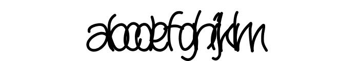 Yana Font LOWERCASE
