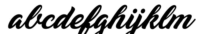 Yananeska Personal Use Font LOWERCASE