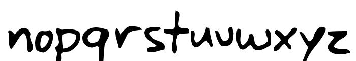 Yank Font LOWERCASE