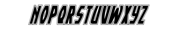 Yankee Clipper Academy Italic Font UPPERCASE