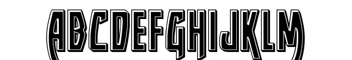 Yankee Clipper Bevel Font LOWERCASE