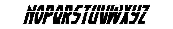 Yankee Clipper Laser Italic Font UPPERCASE