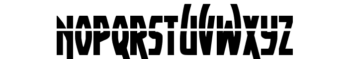 Yankee Clipper Laser Regular Font LOWERCASE