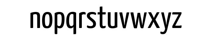 Yanone Kaffeesatz Regular Font LOWERCASE