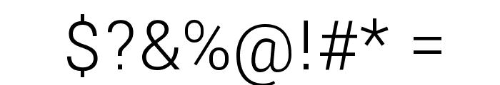 Yantramanav Light Font OTHER CHARS