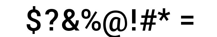 Yantramanav Medium Font OTHER CHARS