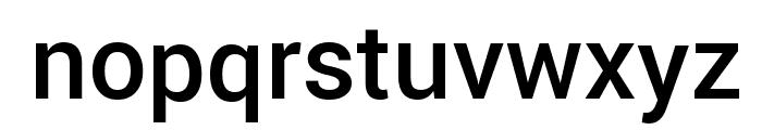 Yantramanav Medium Font LOWERCASE
